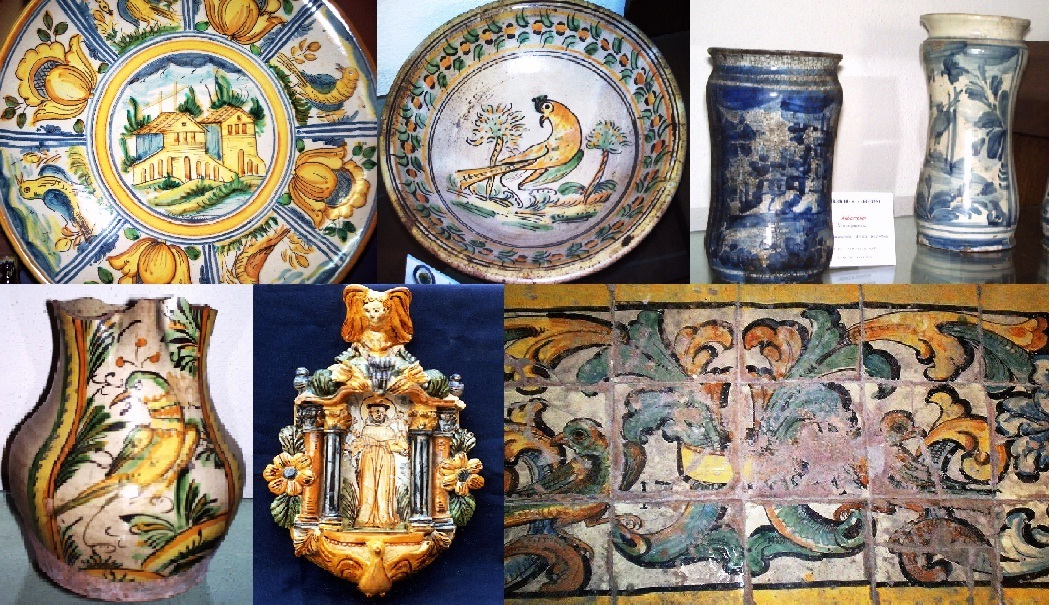 Ceramica di cerreto sannita e di san lorenzello wikipedia for San lorenzello