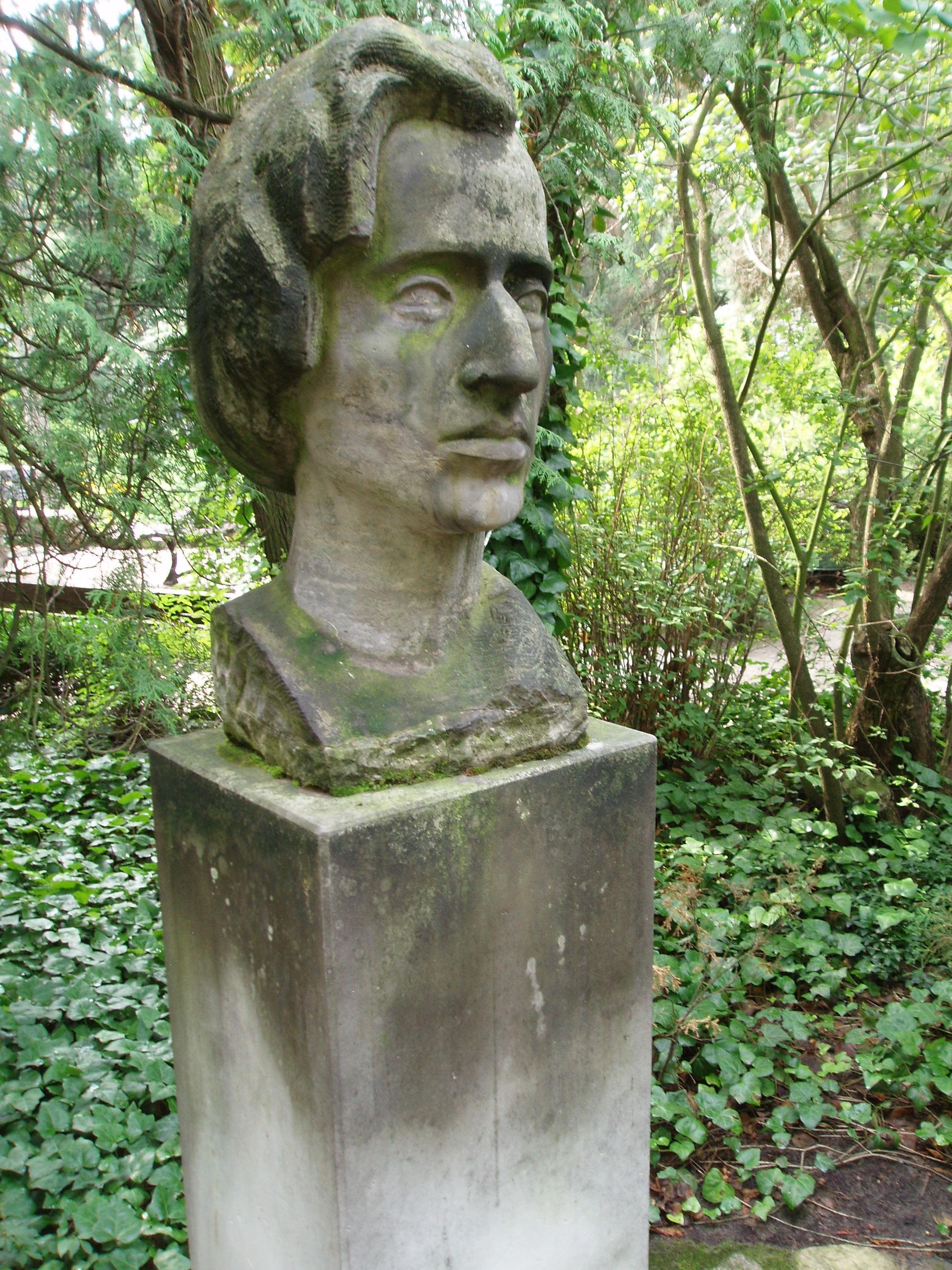 File:Chopin - sculpture in Zelazowa Wola, Poland.jpg - Wikimedia Commons