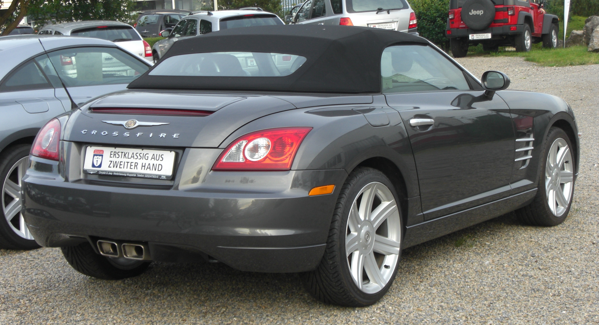 file chrysler crossfire roadster wikimedia commons. Black Bedroom Furniture Sets. Home Design Ideas