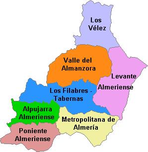 Comarcas Almería