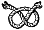 Scanned drawing of the stafford knot