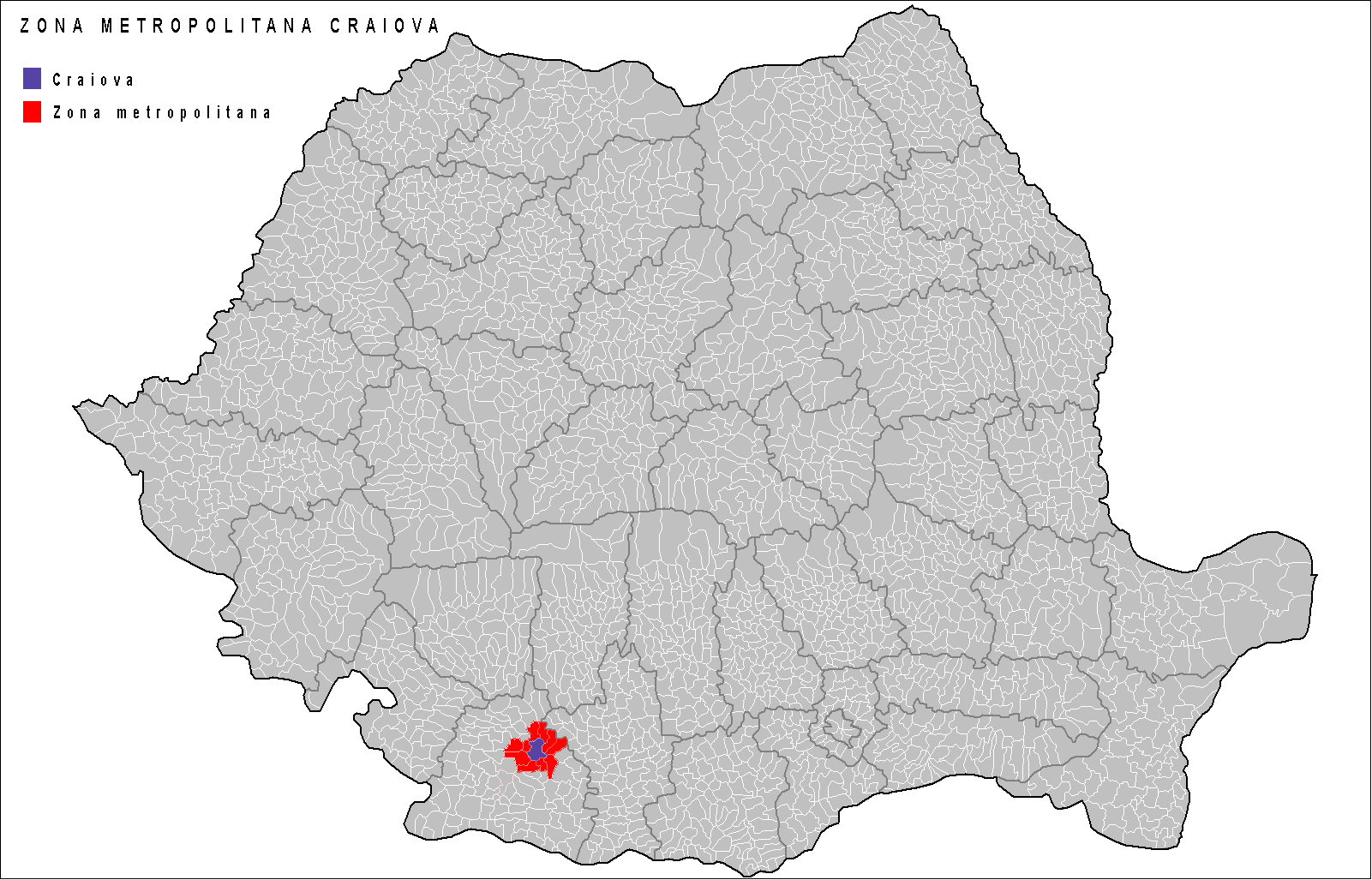 FileCraiova Metropolitan Area in Romaniajpg Wikimedia Commons