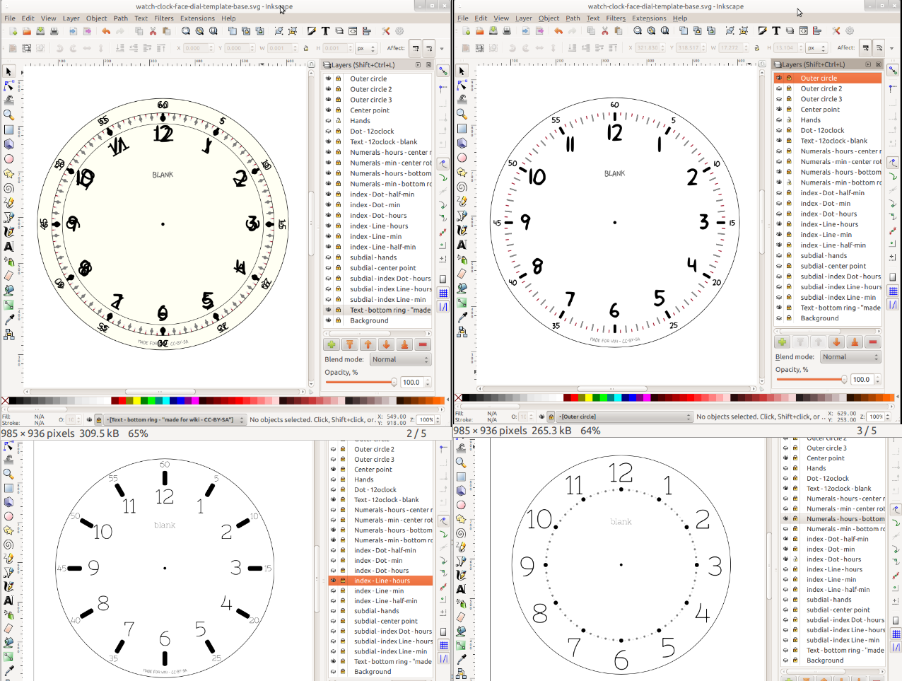 file custom watch clock face dial examples png wikimedia commons