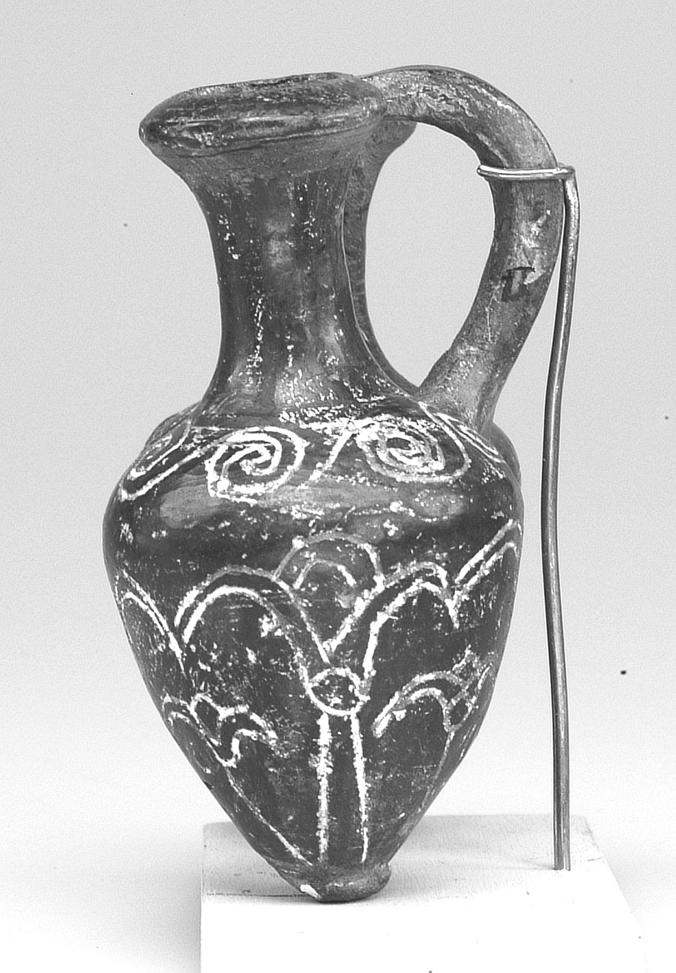 Filedouble Tell El Yahudiya Vase With Incised Lotus Flowers