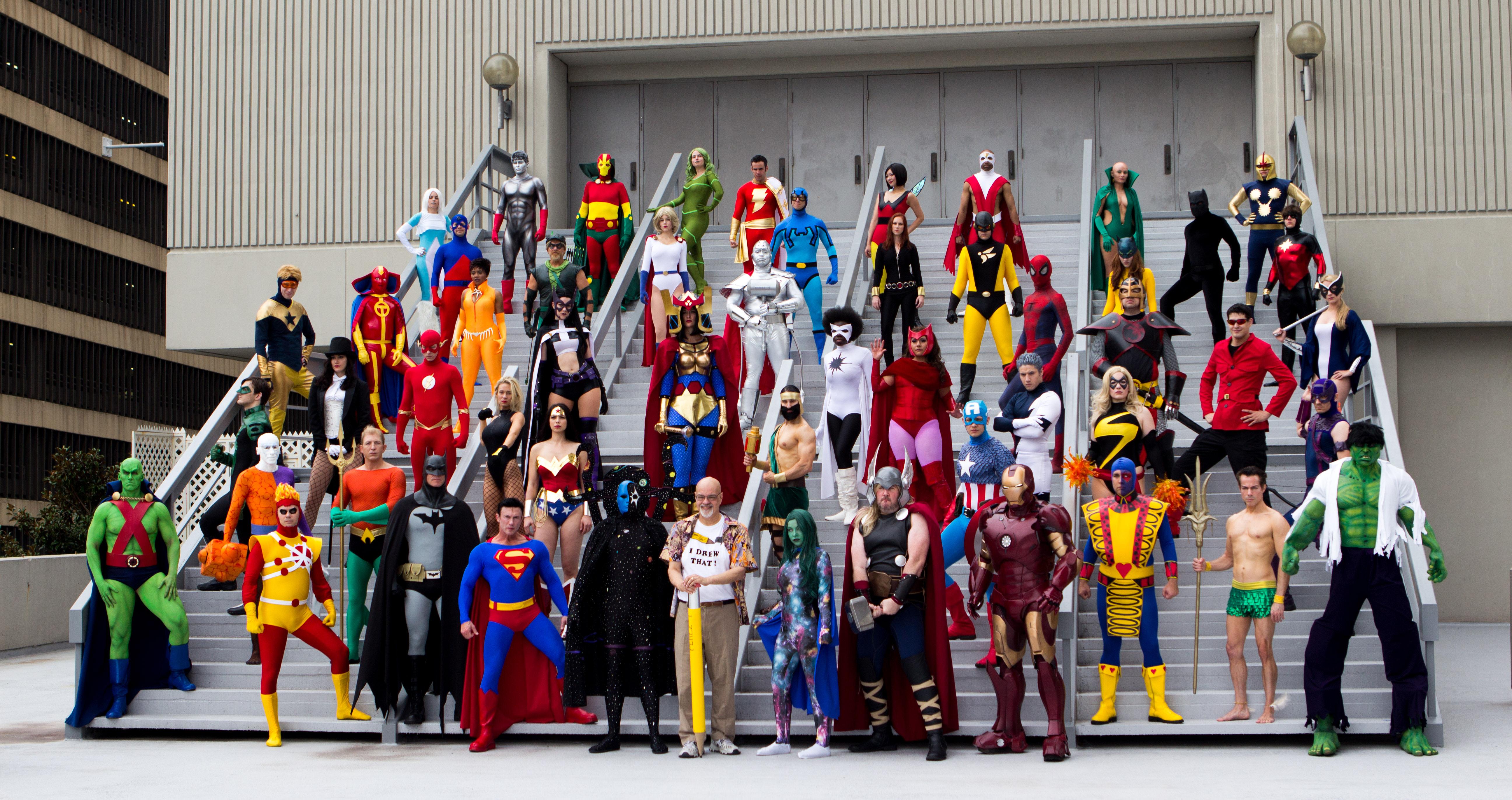 deguisement super heros