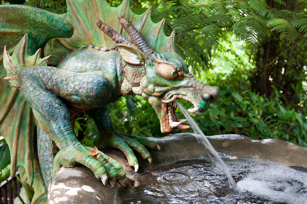 file dragon fountain imbiah lookout sentosa singapore