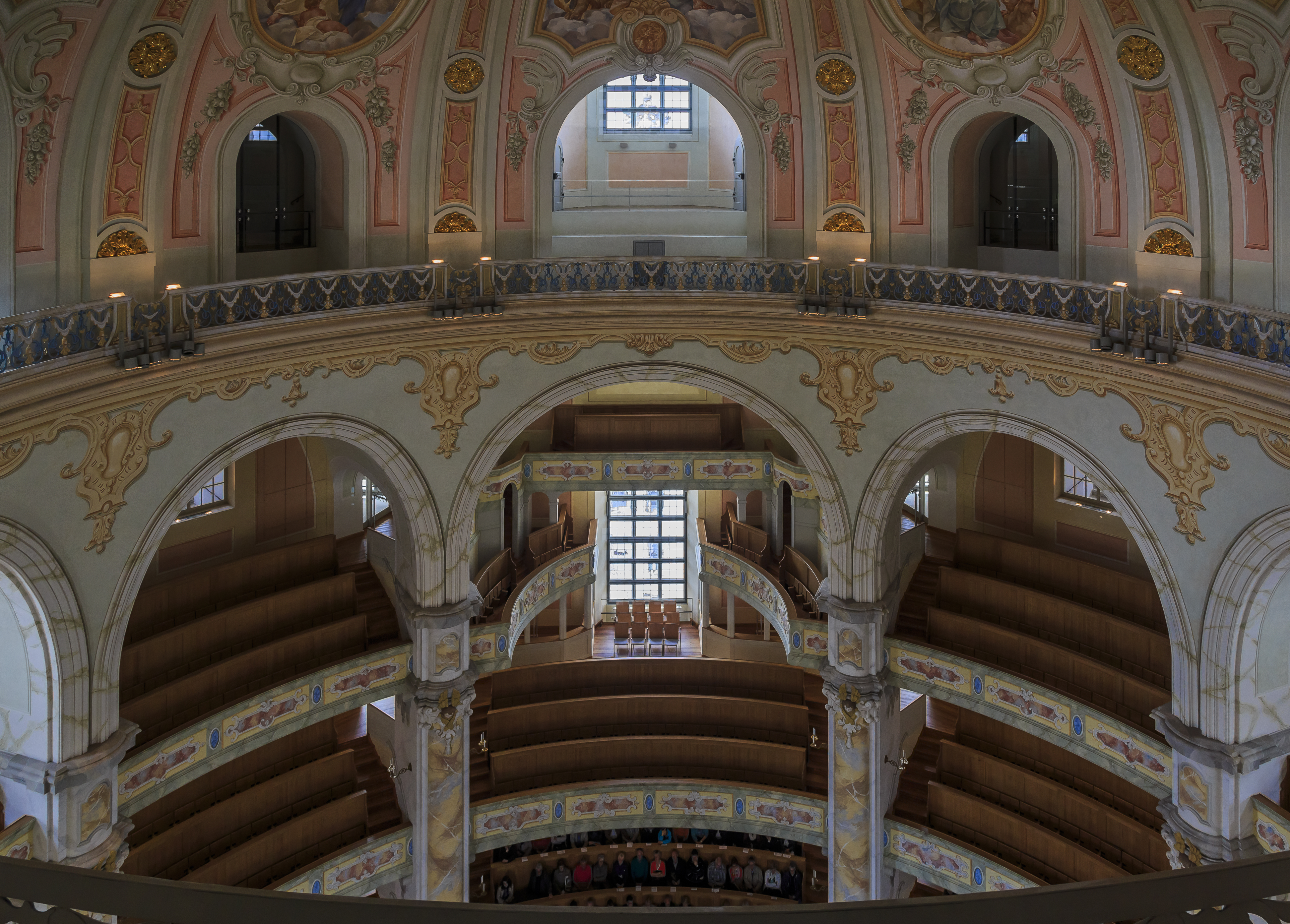 File Dresden Germany Interior Of Frauenkirche