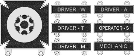 Driver And Mechanic Badge Awarded By United States Army