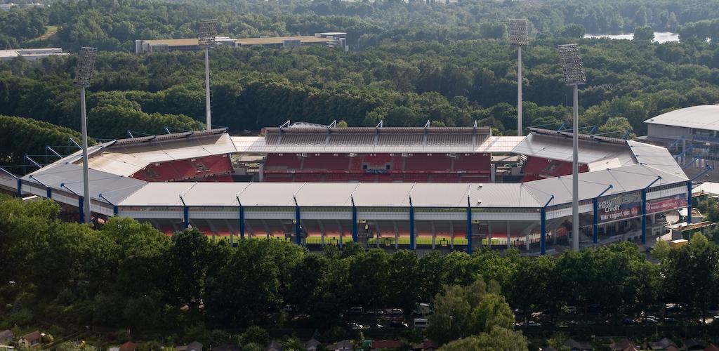 Das Stadion von oben gesehen (2008)