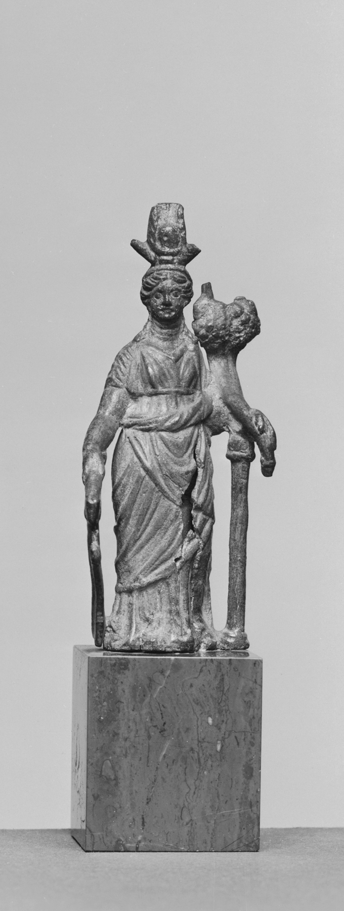Egyptian Isis Fortuna Walters Group Goddess Statue