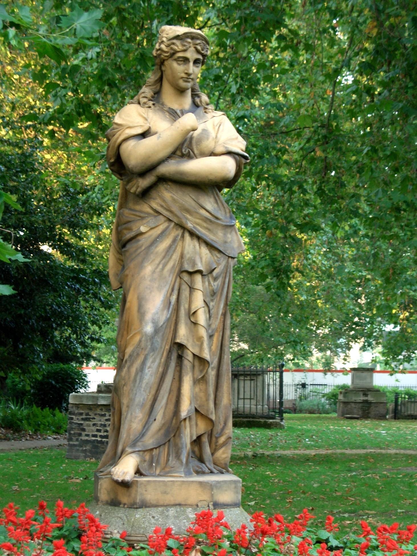 File Euterpe The Muse St George S Gardens London Jpg