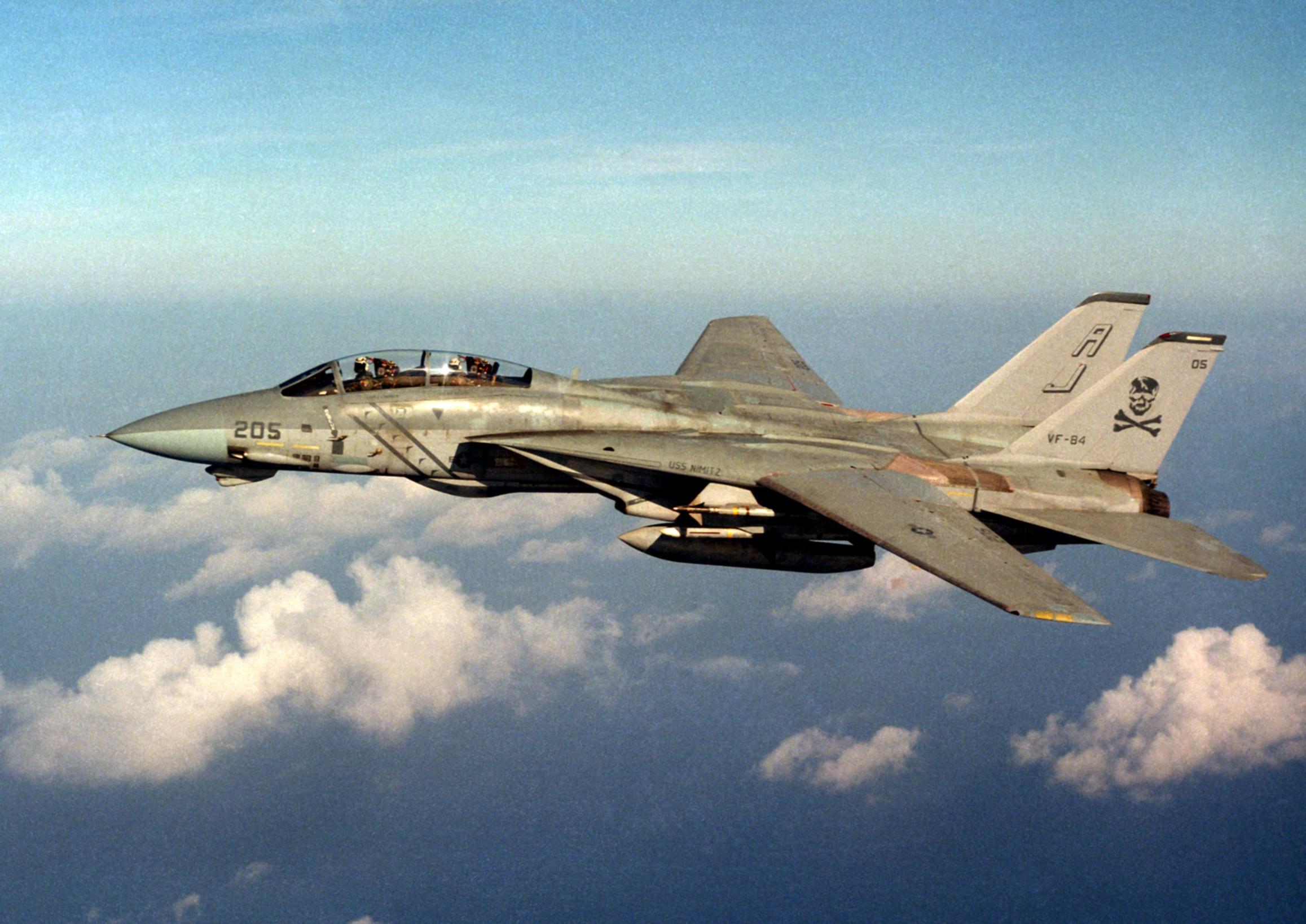 File:F-14A Tomcat of VF-84 in flight in 1986.jpg ...