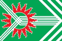 Flag of Asbest (Sverdlovsk oblast).png
