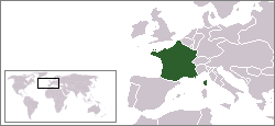 Map of the French Second Republic