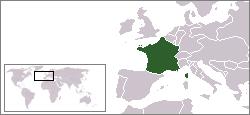 Geografisk placering af Franske kongerigeJulimonarkiet