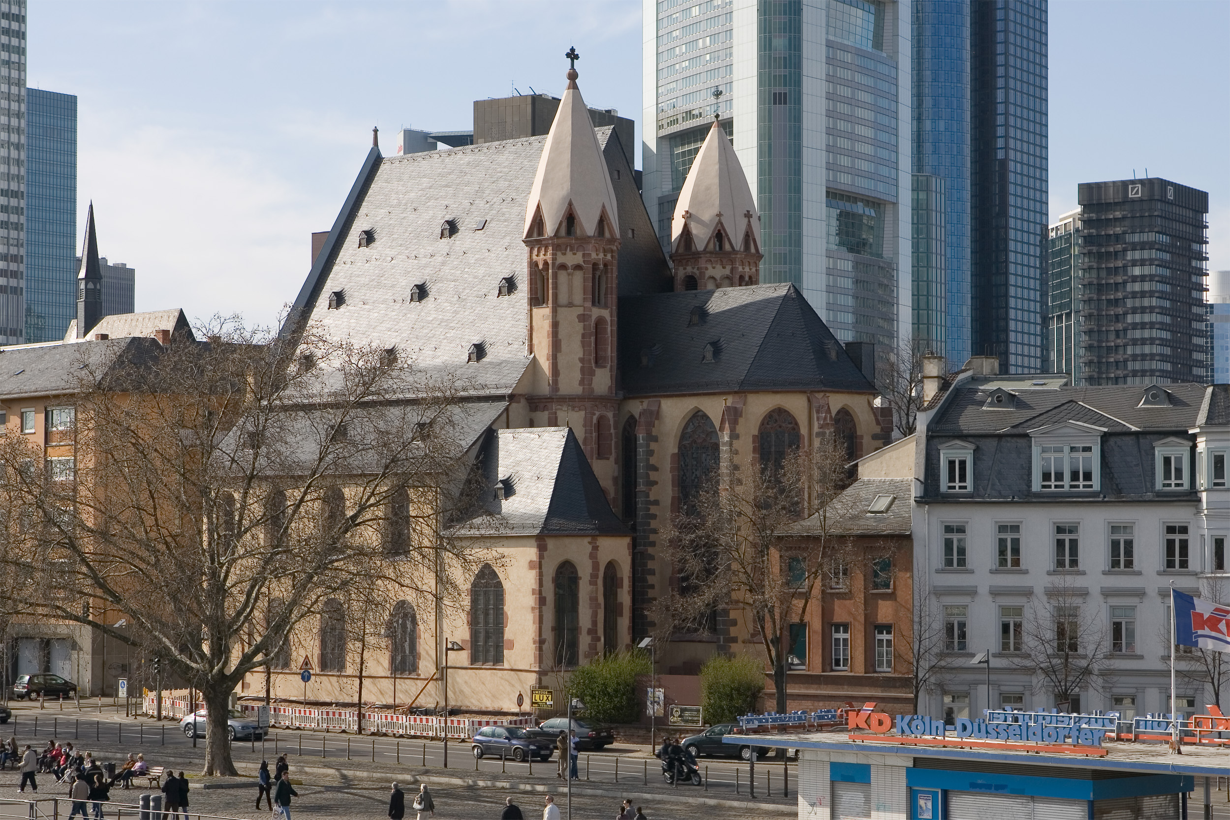 leonhardskirche frankfurt am main wikiwand. Black Bedroom Furniture Sets. Home Design Ideas
