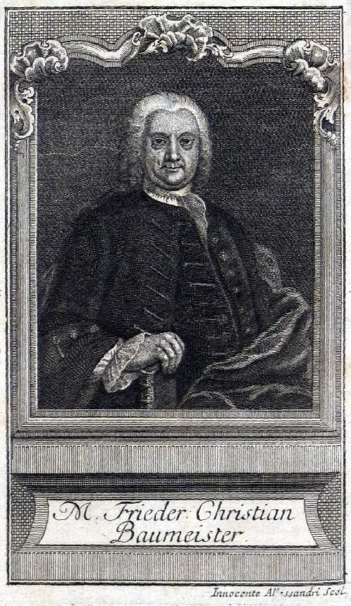 Friedrich Christian Baumeister.