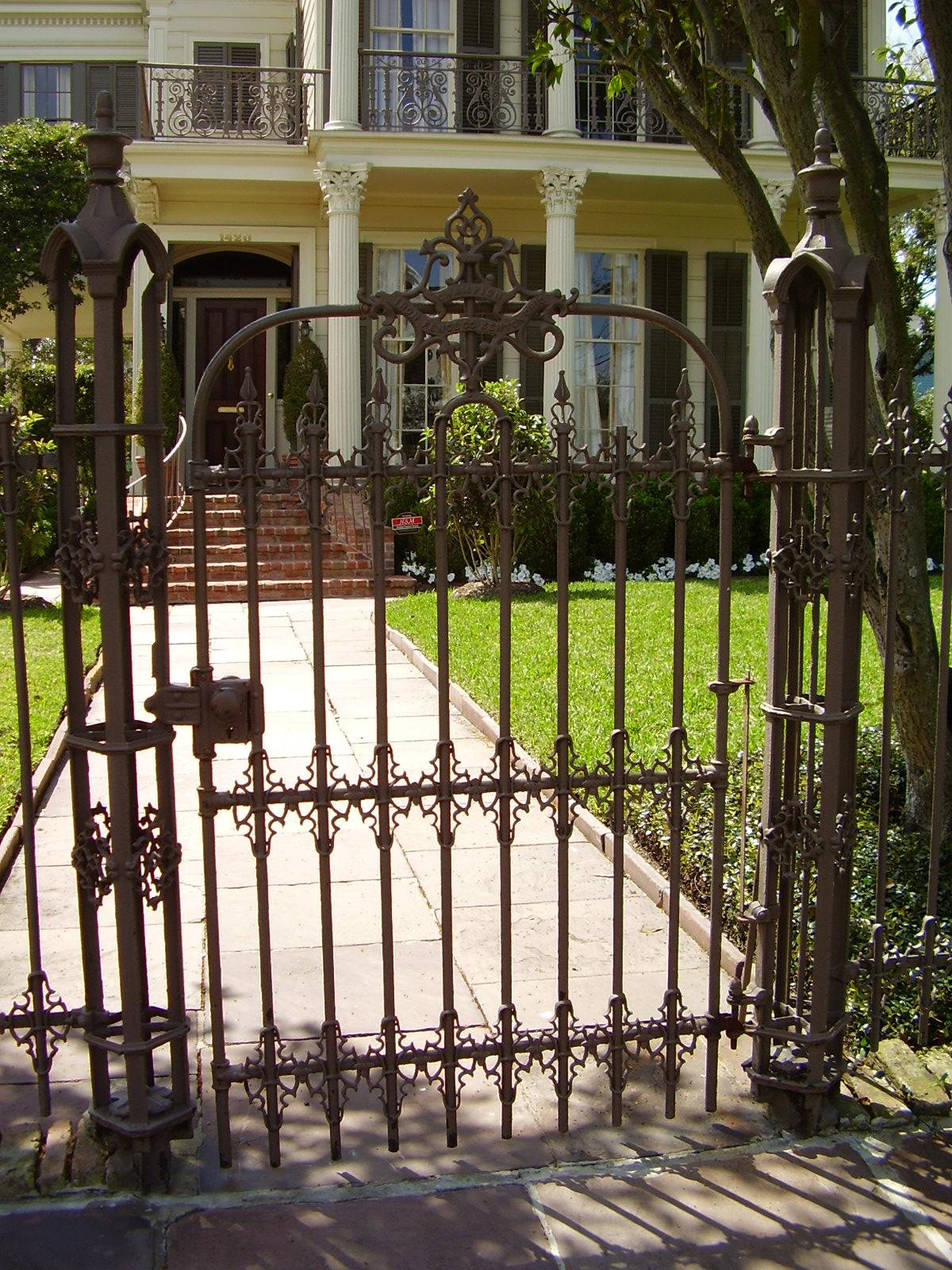 Metal Outdoor Gates | Joy Studio Design Gallery - Best Design