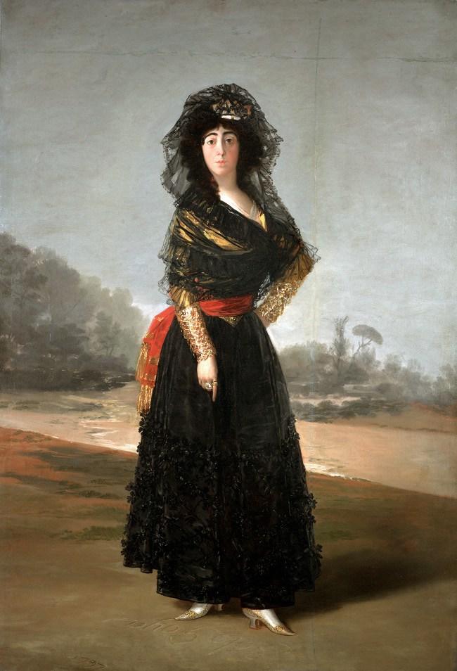 Resultado de imagen para la duquesa de alba goya