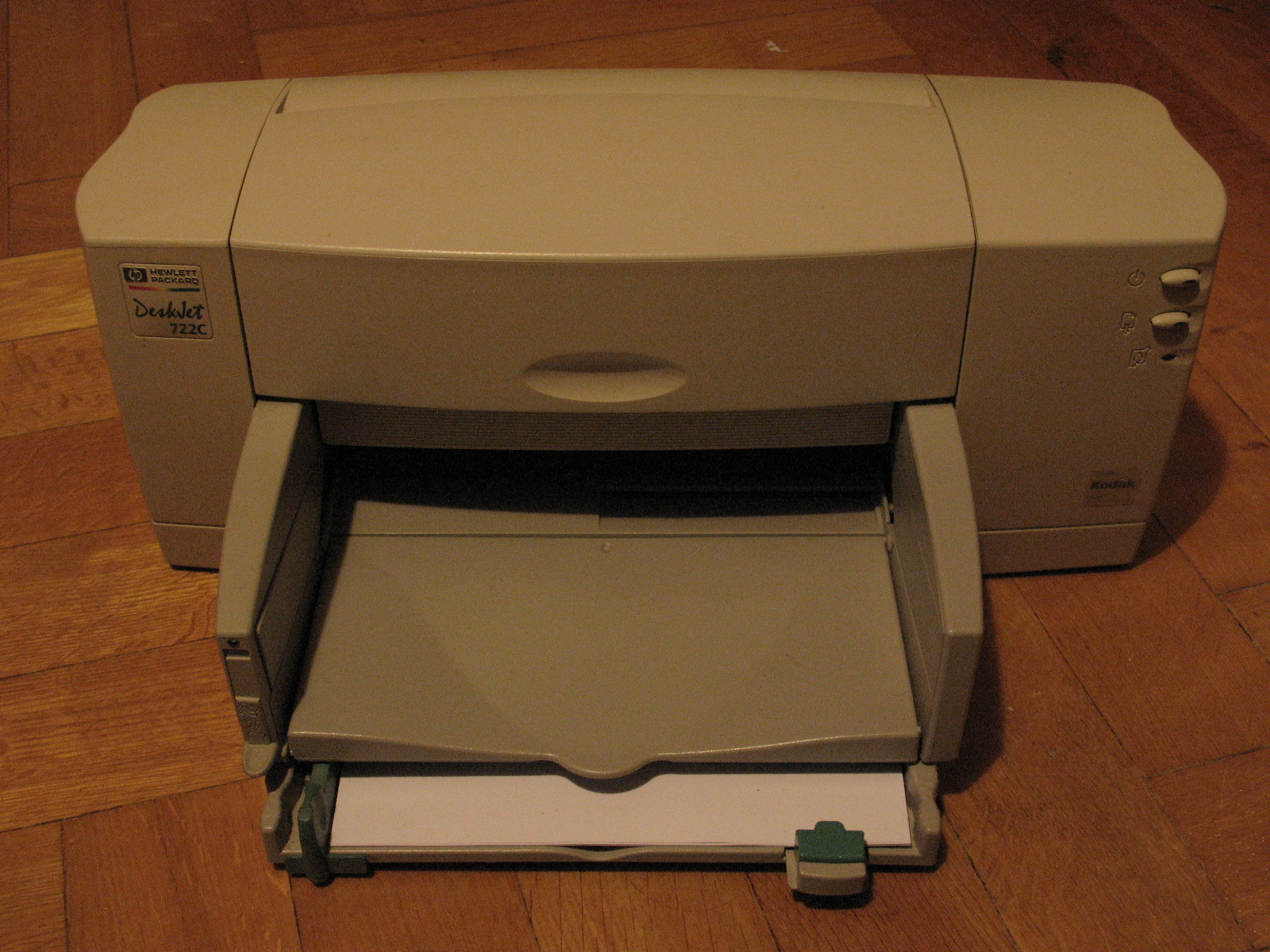 HEWLETT PACKARD 722C PRINTER DRIVERS PC