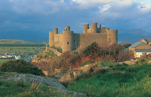 Harlech Castle - Cadw photograph