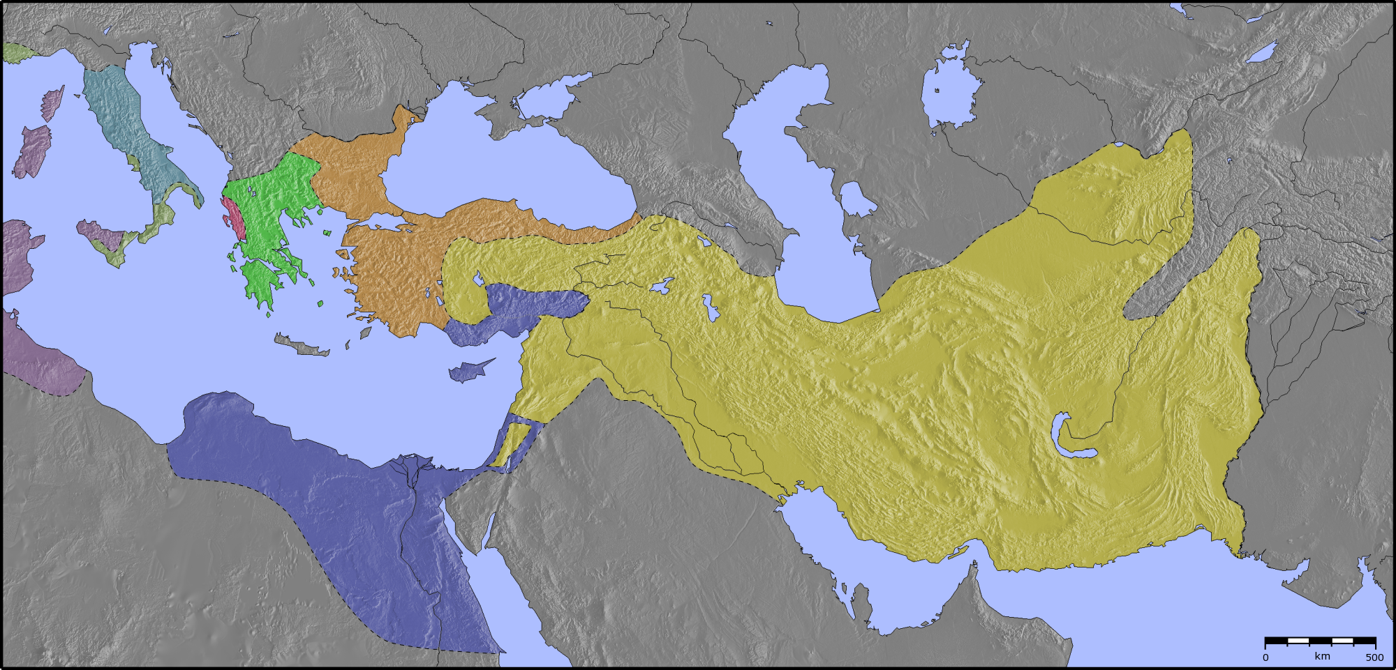Filehellenistic world 300bc blankg wikimedia commons filehellenistic world 300bc blankg gumiabroncs Image collections