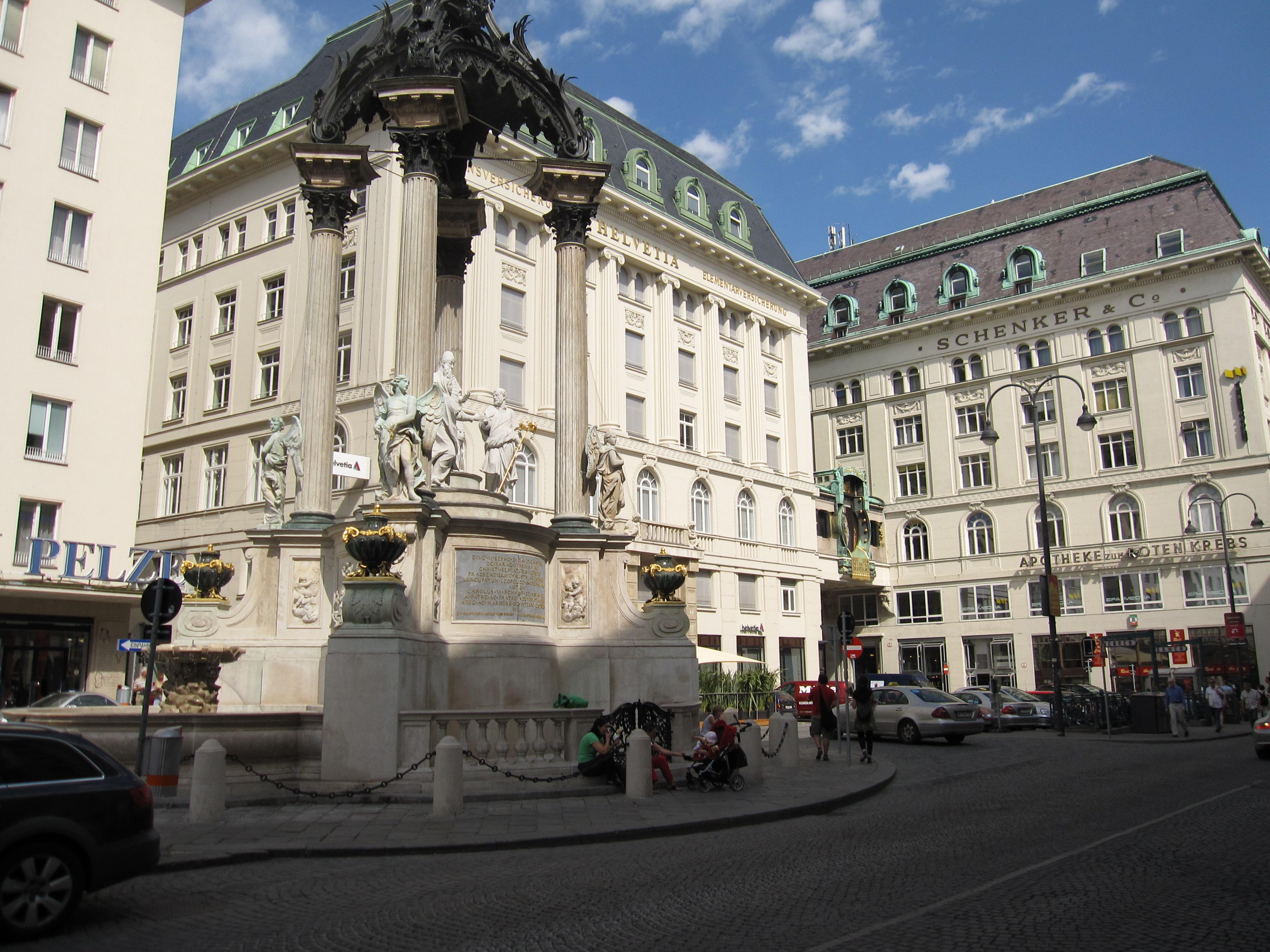 Hoher Markt Vienna 2009.JPG