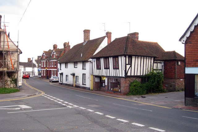 Houses and Shops on Church Street, Uckfield, East Sussex - geograph.org.uk - 1010091.jpg