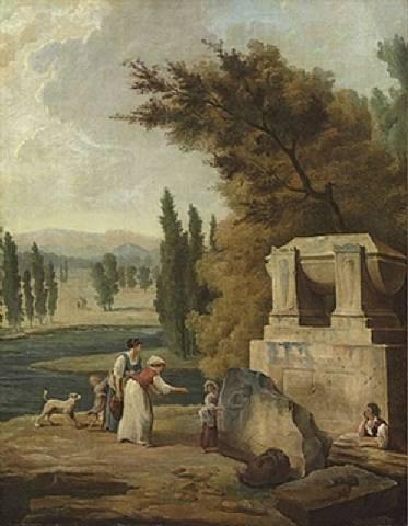 Fichier:Hubert Robert, Le parc d'Ermenonville, 1780.jpg — Wikipédia