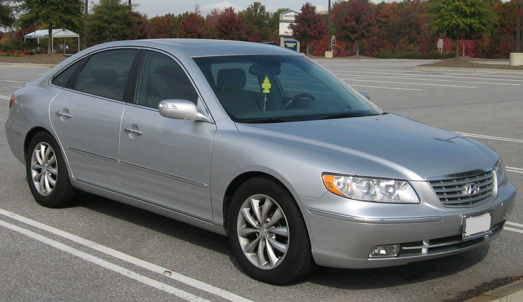 File Hyundai Azera Limited Jpg Wikimedia Commons