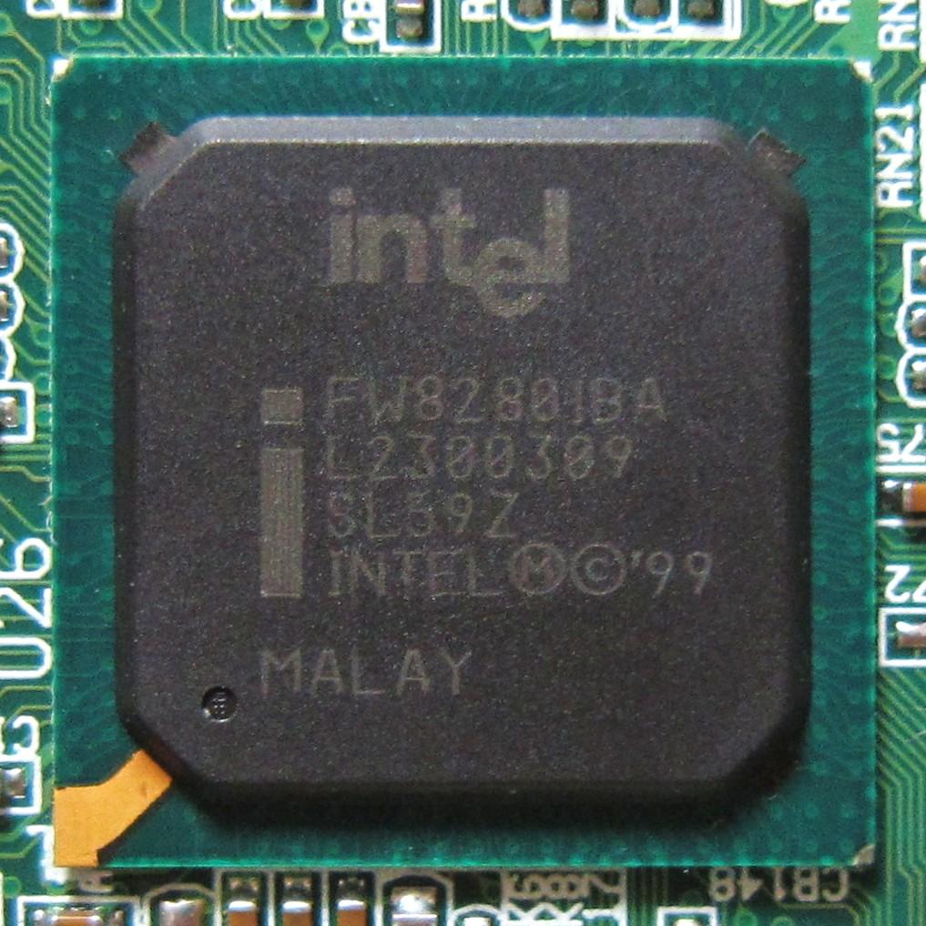 Intel 82801db dbl lan controller