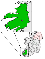 Ireland map County Kerry Magnified.png