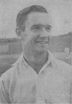 English: Australian cricketer Jim Burke