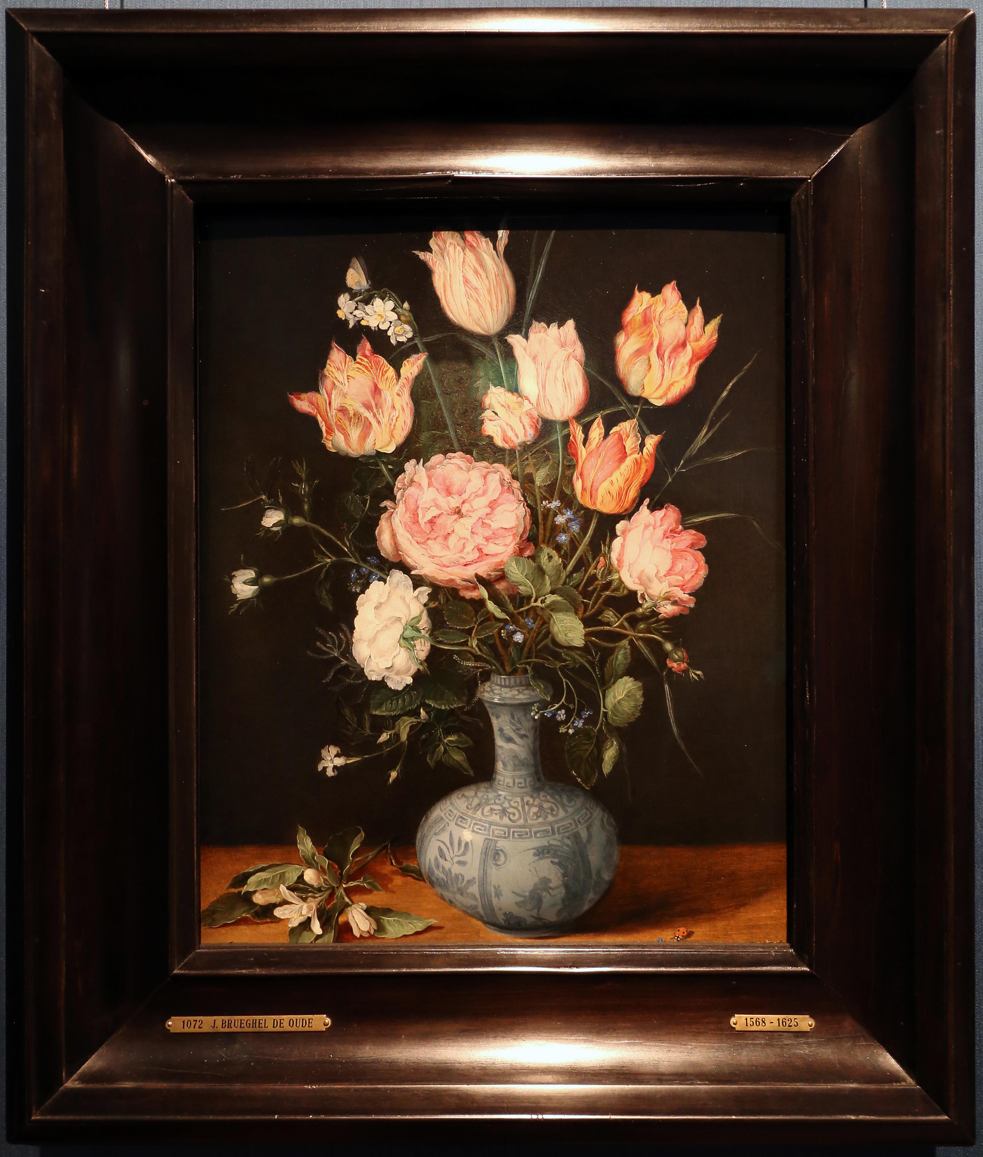 Mazzo Di Fiori Jpg.File Jan Bruegel Il Vecchio Mazzo Di Fiori In Un Vaso Wan Li