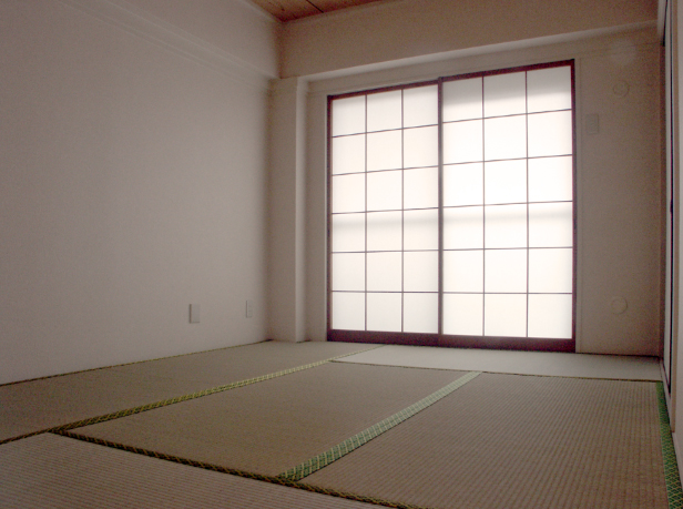 Archivo:Japanese room with tatami mats.jpg