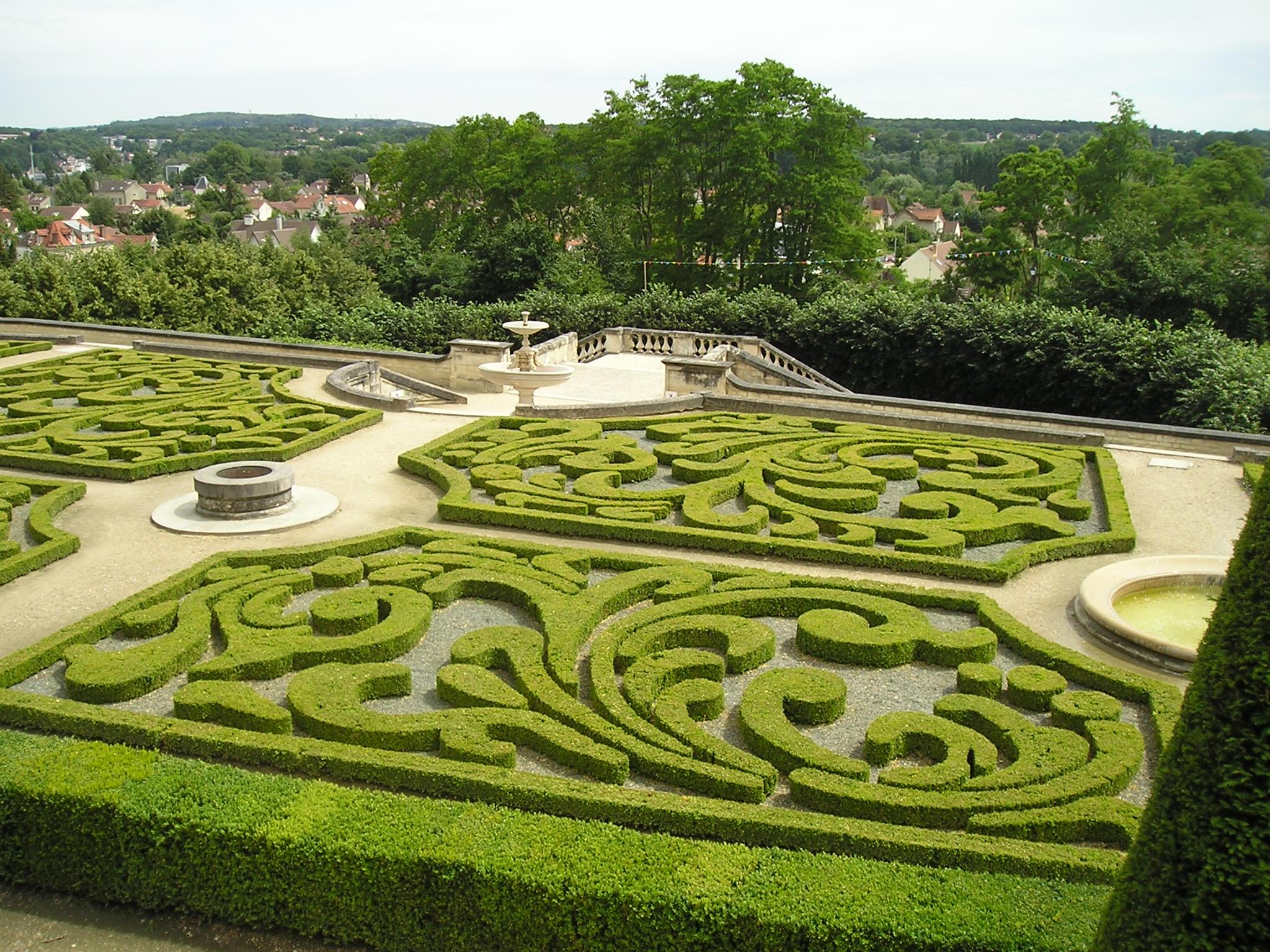 Jardins à La Française En France
