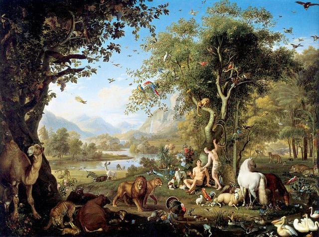 Johann Wenzel Peter - Im Paradies