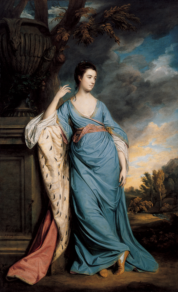 Zena na slikarskom platnu Joshua_Reynolds,_Portrait_of_a_Woman,_Possibly_Elizabeth_Warren,_1759,_Oil_on_canvas,_Kimbell_Art_Museum