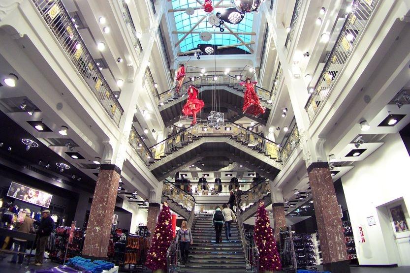 Datei jugendstil kaufhaus halle wikipedia for Halle innenarchitektur