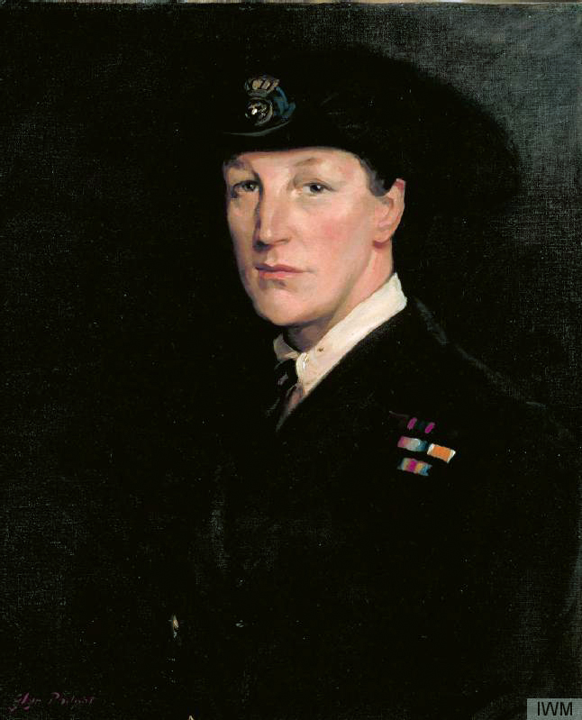 Dame Katherine Furse, CBE, RRC, Director of the Women's Royal Naval Service, 1920 oil on canvas 60,9 x 50,8 cm signed b.l.: Glyn Philpot