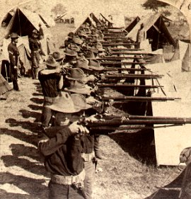 US Kentucky Volunteers regiment in Porto Rico 1898