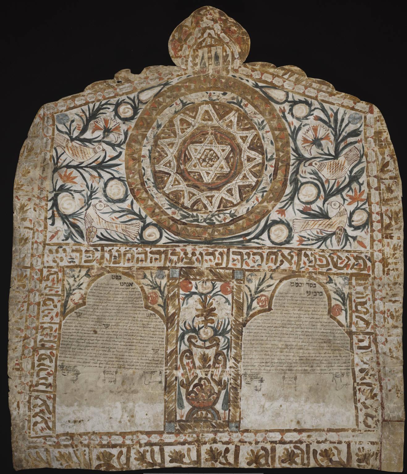 Ancient Ketubah