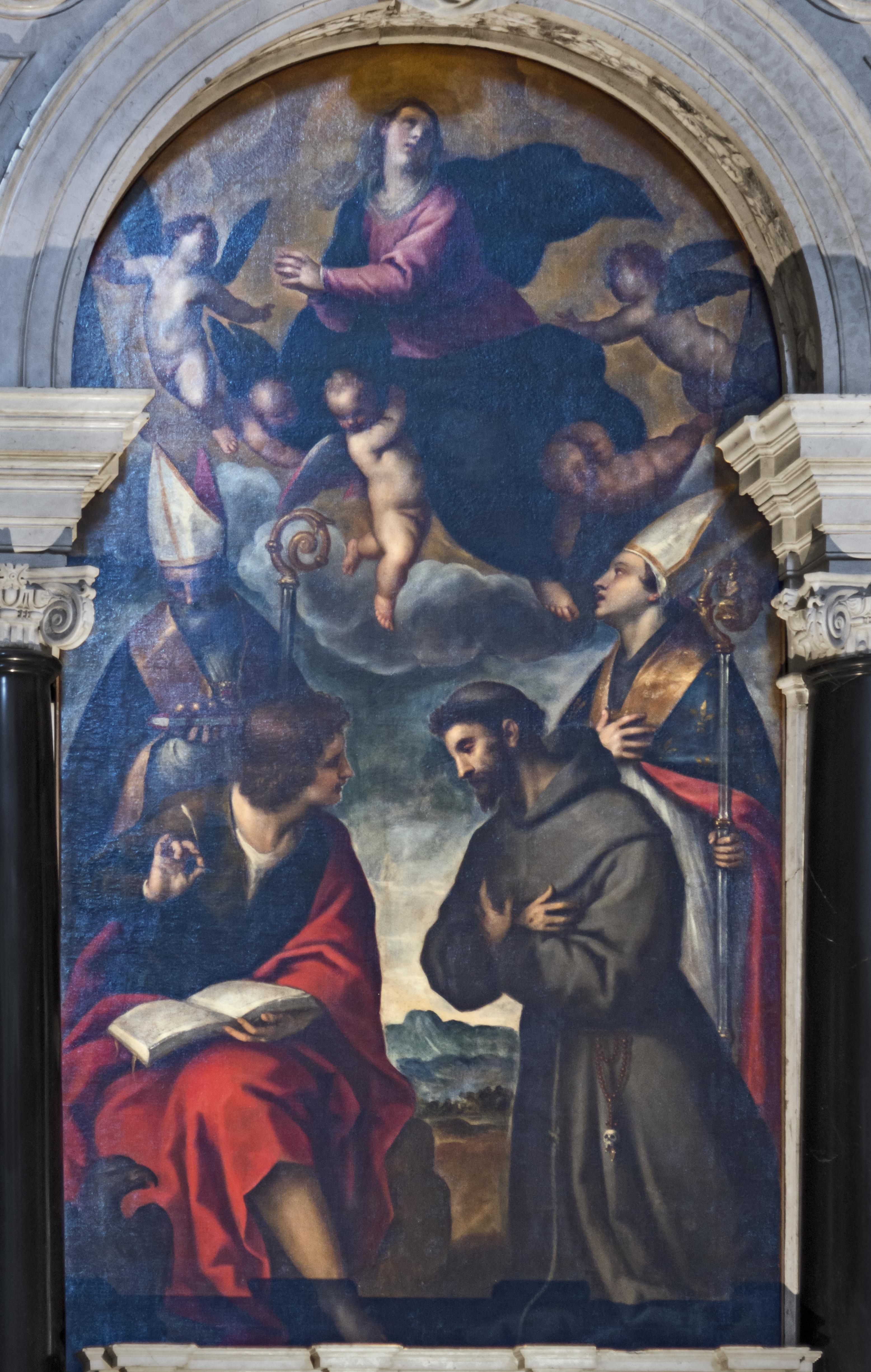 File:La Vergine in gloria e santi - Palma il Giovane (1624-1628
