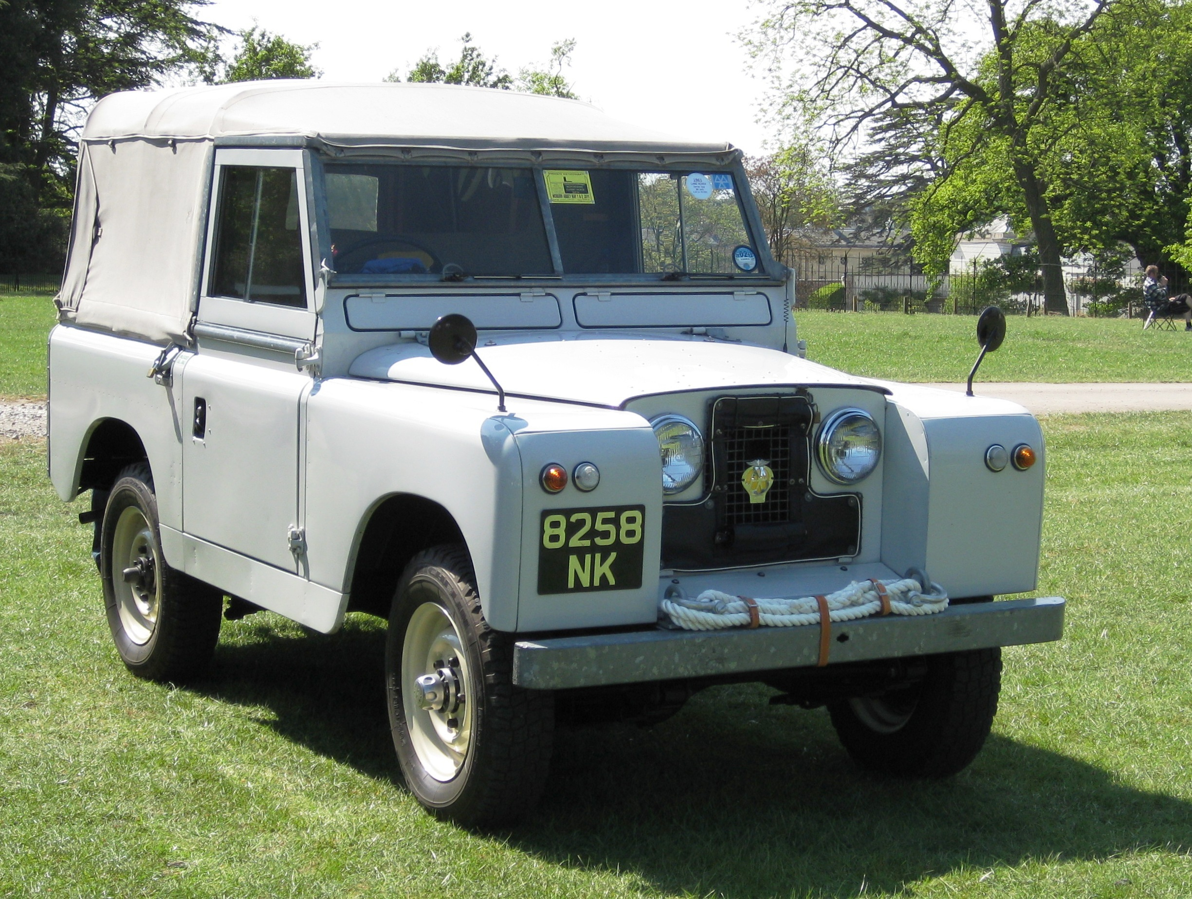 File Land Rover Swb First Registered February 1961 2286cc