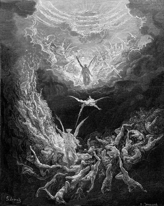 최후의 심판 (귀스타브 도레, Gustave Doré, 1866년)
