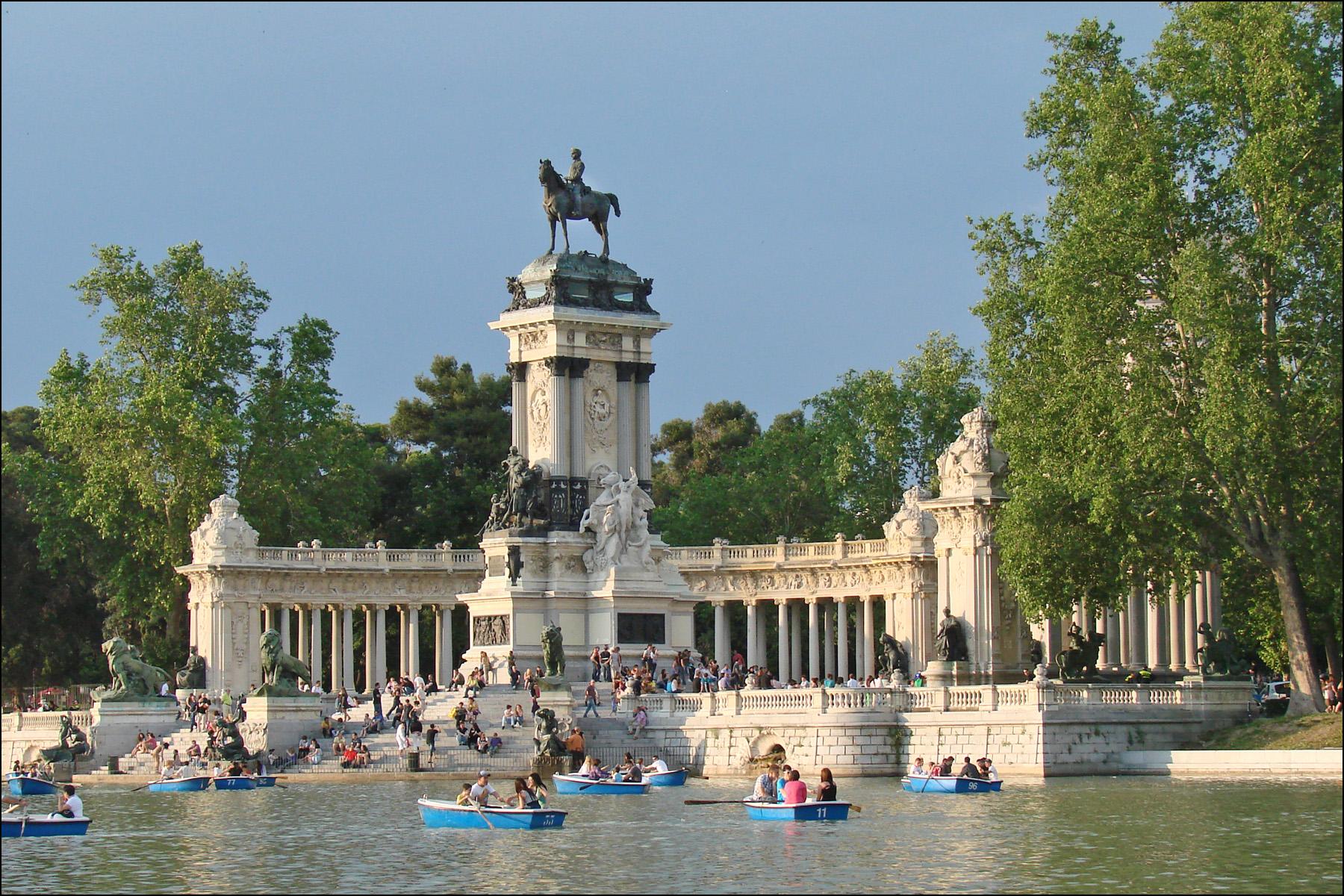 Image illustrative de l'article Parc du Retiro