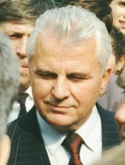 Leonid Kravchuk became Ukraine's leader in 1990. Leonid Kravchuk.jpg