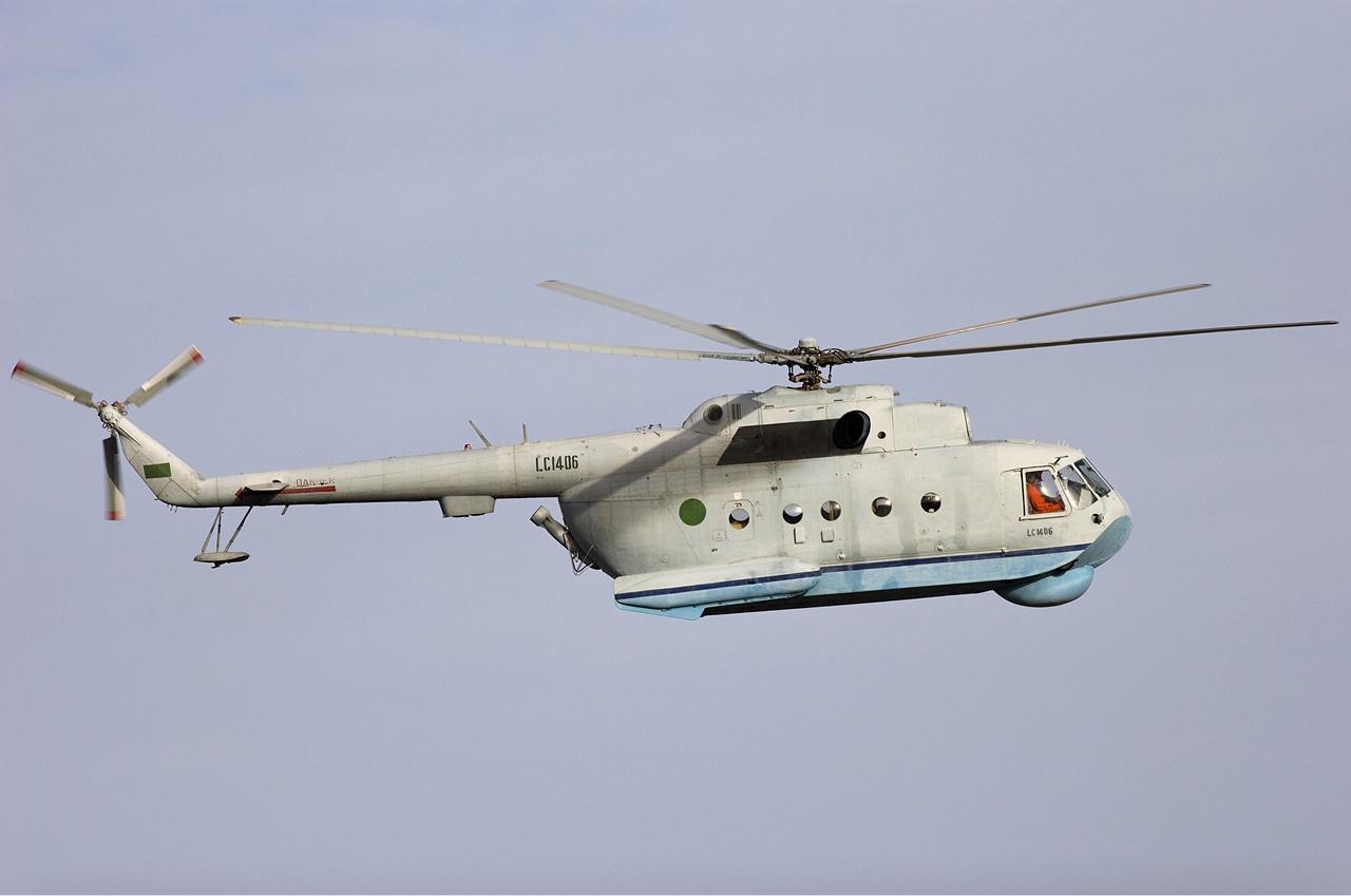 Libyan Air Force Mil Mi-14PL Lofting