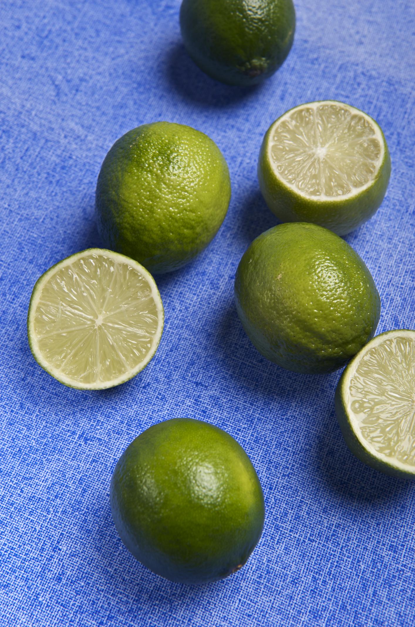 Limes On Blue (4254408531).jpg