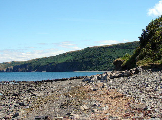 Llanina Beach - geograph.org.uk - 209673